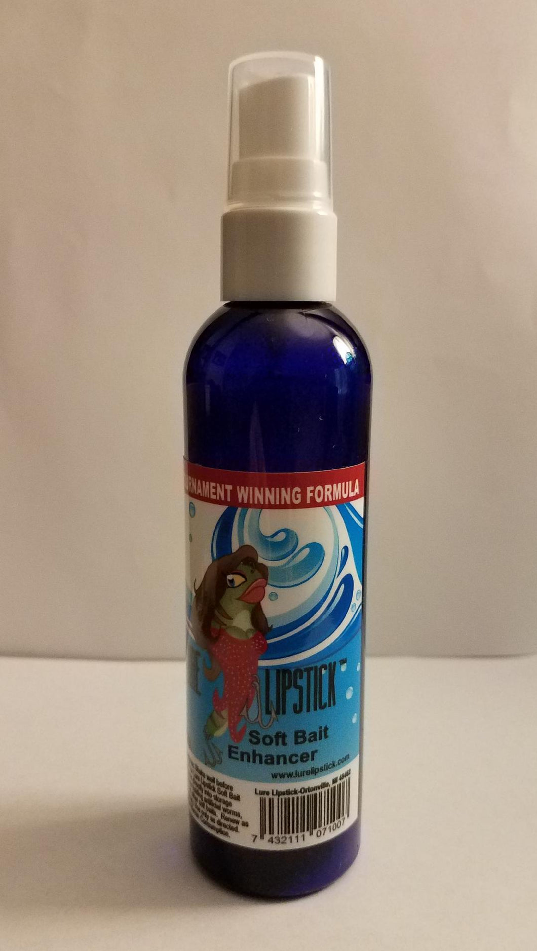 Lure Lipstick - Soft Bait Enhancer - 4oz Spray Bottle