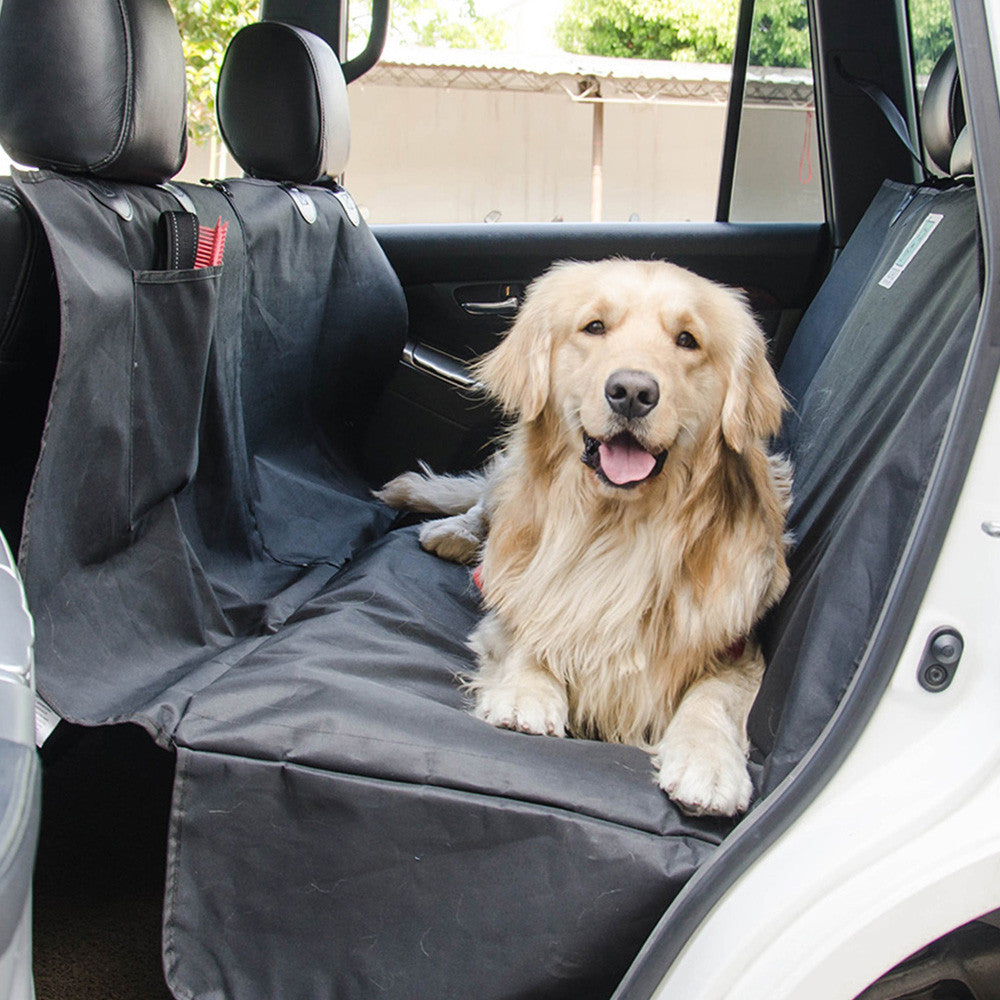 waterproof dog seat pet car truck dogs sea p cover carriers hammock carousell foldable supplies mat on