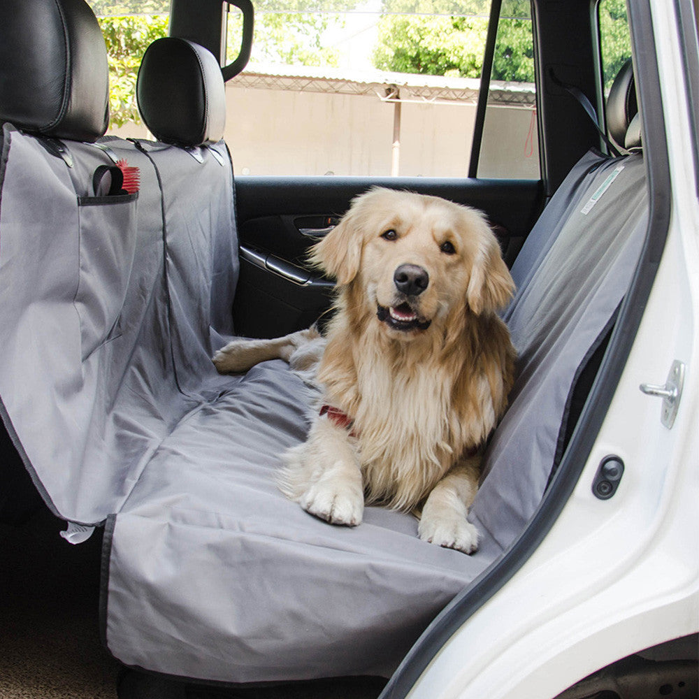 waterproof proof dog backseat cover protectortravel safety version scratch with pets seat hammock topelek anchors product nonslip coversuniversal pet car bench updated