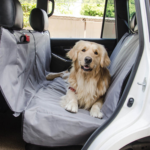 Pet Car Seat Hammock Cover - Grey