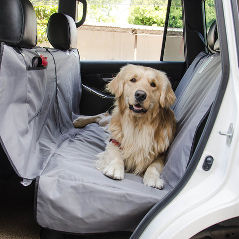 Pet Car Seat Hammock Cover - Black