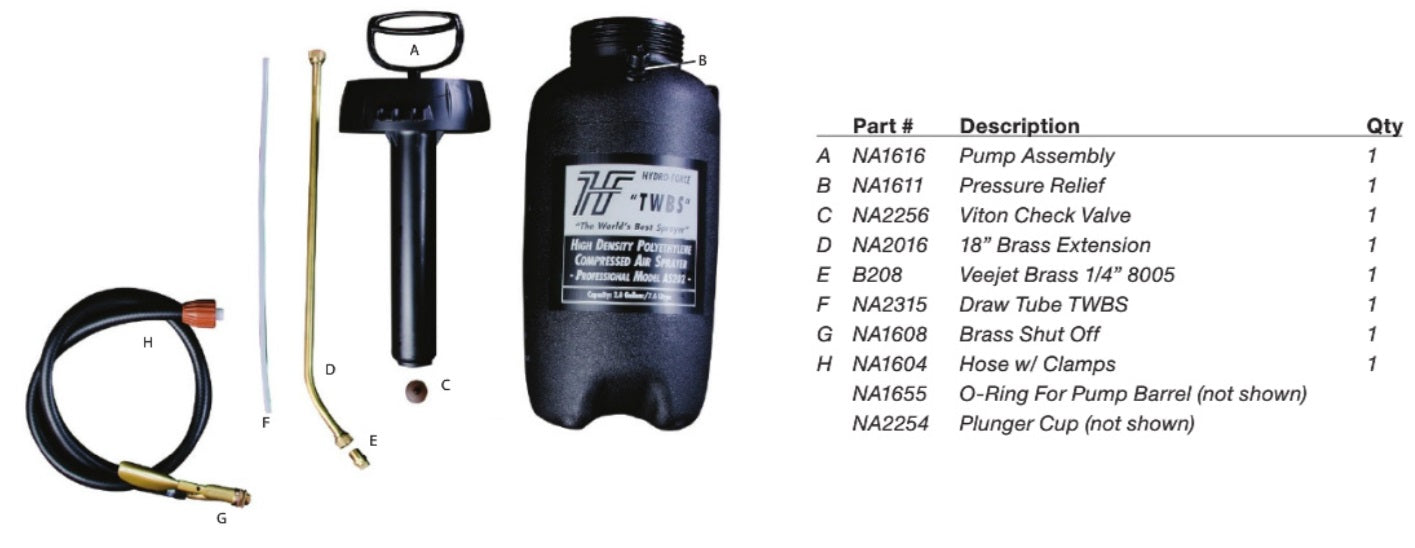twbs sprayer parts