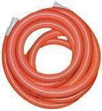 VACUUM HOSE 1.5INCH X 7.5MTRS ORANGE INC CUFFS