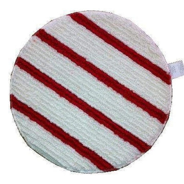 BONNET PAD RED & WHITE EACH