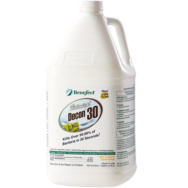 BENEFECT DECON 30 DISINFECTANT CLEANER GAL
