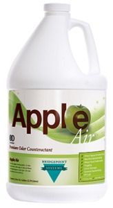BRIDGEPOINT PREMIUM DEODORISER APPLE AIR 3.8LTR