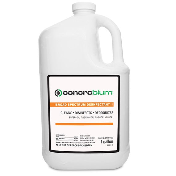 CONCROBIUM PRO BROAD SPECTRUM DISINFECTANT II CLEANER 3.8LTR