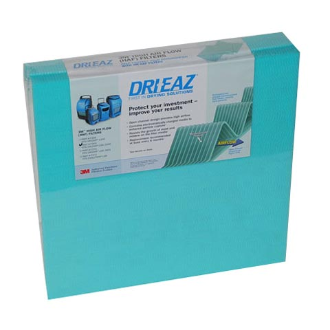 DRI-EAZ DEHUMIDIFIER FILTER, 3M HAF 1200 & 7000