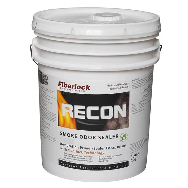 FIBERLOCK RECON SMOKE ODOR SEALER - CLEAR 5GAL