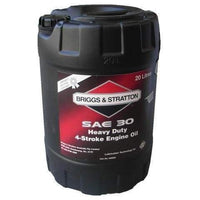 GENUINE BRIGGS AND STRATTON 4 STROKE OIL SAE30 20LTR