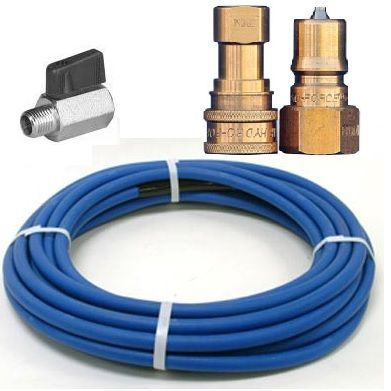 HYDROFORCE PRO 4000 SOLUTION HOSE 7.5MTR WITH PREMIUM QUICK CONNECTS & VALVE