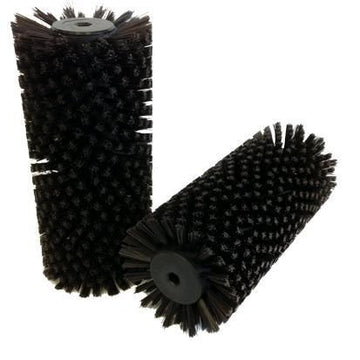 BRUSH PRO CRB 10INCH BRUSH BROWN (STIFF)(SOLD AS EACH, MIN QTY 2)