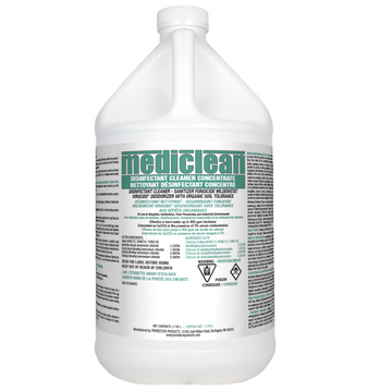 MEDICLEAN® GERMICIDAL CLEANER CONCENTRATE (GCC) 3.8LTR