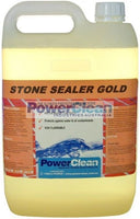 POWERCLEAN STONE SEALER GOLD 5ltr