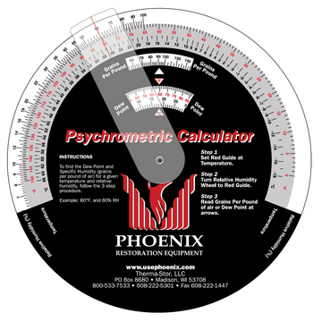 PHEONIX PSYCHROMETRIC CALCULATOR
