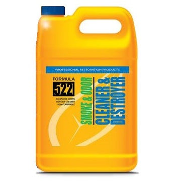 SENTINEL FORMULA 522 SMOKE & ODOR CLEANER & DESTROYER 3.8LTR