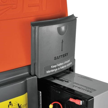 SPEED CLEAN BATTERY DOOR GREY CJ125