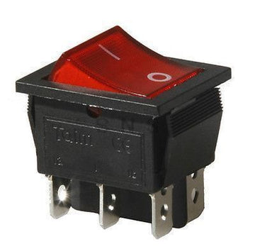 ROCKER SWITCH DPST 6 PIN