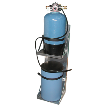 SELF-CONTAINED AUTOMATIC WATER SOFTENER