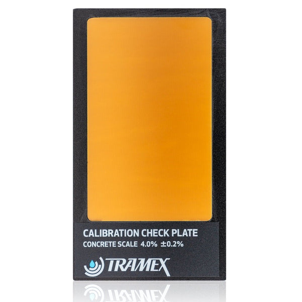 TRAMEX CALIBRATION CHECK PLATE FOR CM SERIES METERS