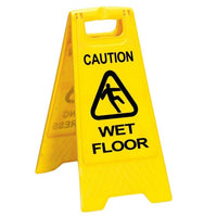 DOUBLE SIDED WET FLOOR CAUTION SIGN