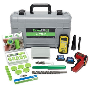 WAGNER CFP405 CONCRETE FLOORING PROFESSIONAL KIT WITH RAPID RH L6