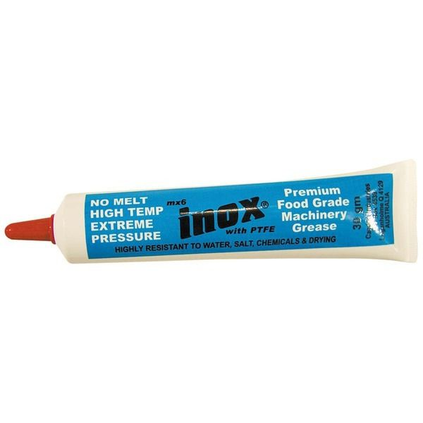 INOX MX6 RUBBER GREASE TUBE