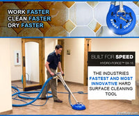 RAZORBACK XTRACT 1200PSI TILE & GROUT CLEANING PORTABLE EXTRACTOR