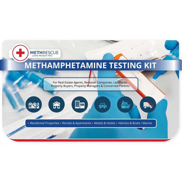 METHRESCUE INSTANT RESULTS METHAMPHETAMINE TESTING KIT (10 TESTS INCLUDED)