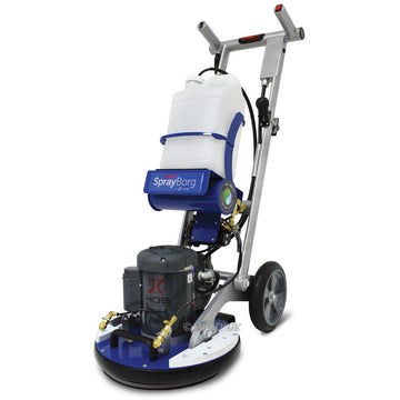 ORBOT SPRAYBORG ORBITAL FLOOR MACHINE WITH ACCESSORIES