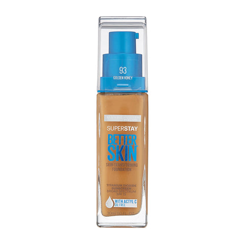 Maybelline Super Stay Better Skin Foundation, 93 Golden Honey