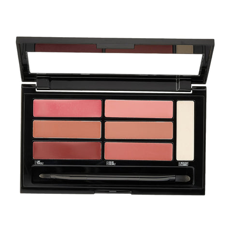 Maybelline Color Contour Lip Palette Blushed Bombshell 02