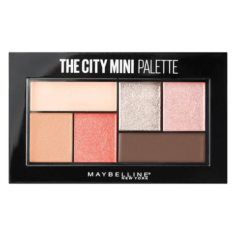 Maybelline The City Mini Eyeshadow Palette, 0.14 Oz  430 Downtown Sunrise