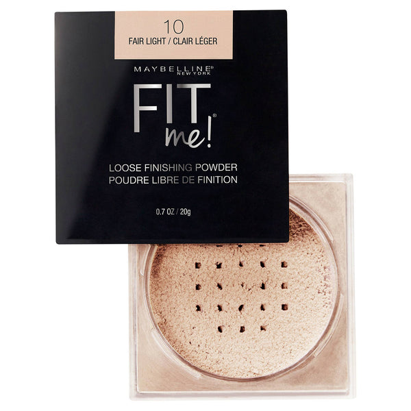 Maybelline Fit Me Loose Finishing Powder, 0.7 Oz.  10 Fair Light