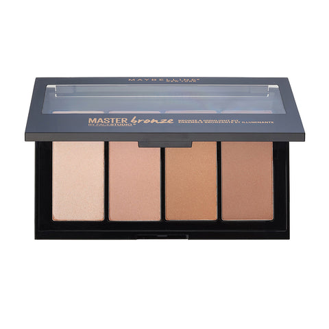 Maybelline Facestudio Master Bronze, Bronze & Highlight Kit 10, 0.47 Oz.