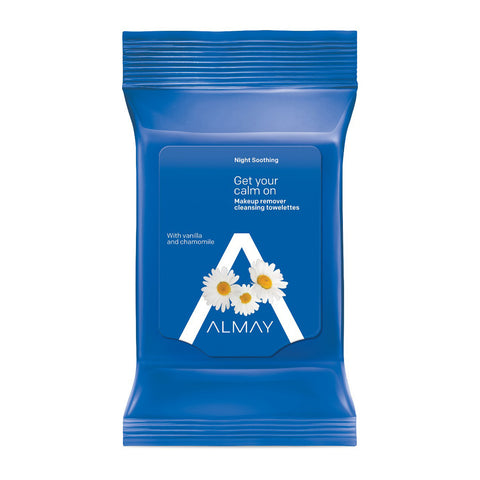 Almay Night Soothing Makeup Remover Cleansing Towelettes
