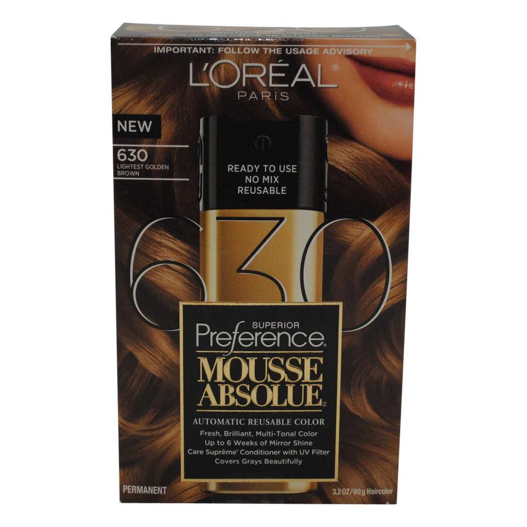 L\'Oreal Paris Superior Preference Mousse Absolue Hair Color – Fiord ...