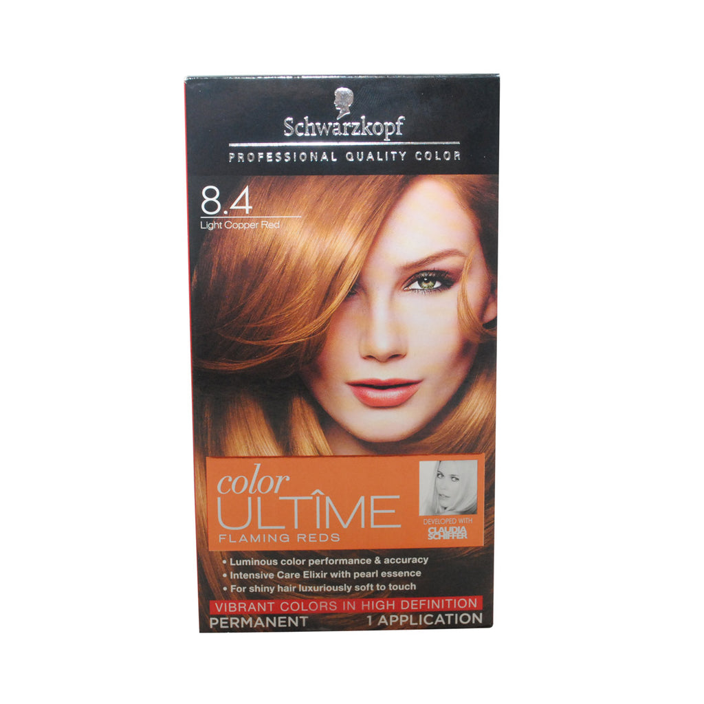 Schwarzkopf Color Ultime Flaming Reds Hair Color 84 Light Copper
