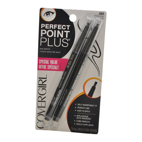 Covergirl Perfect Point Plus Eye Pencil, 200 Black Onyx
