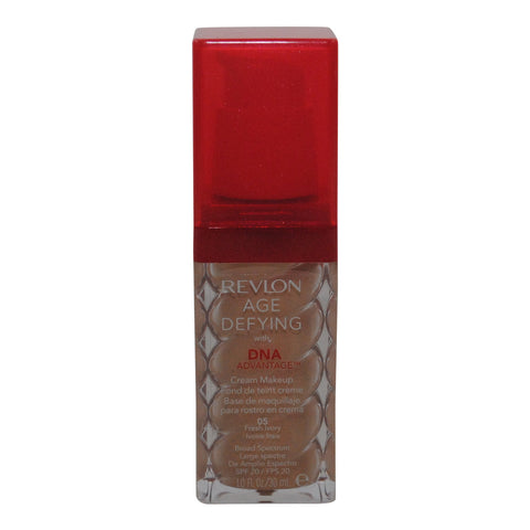 Revlon Age Defying With Dna Advantage Cream Makeup, 05 Fresh Ivory