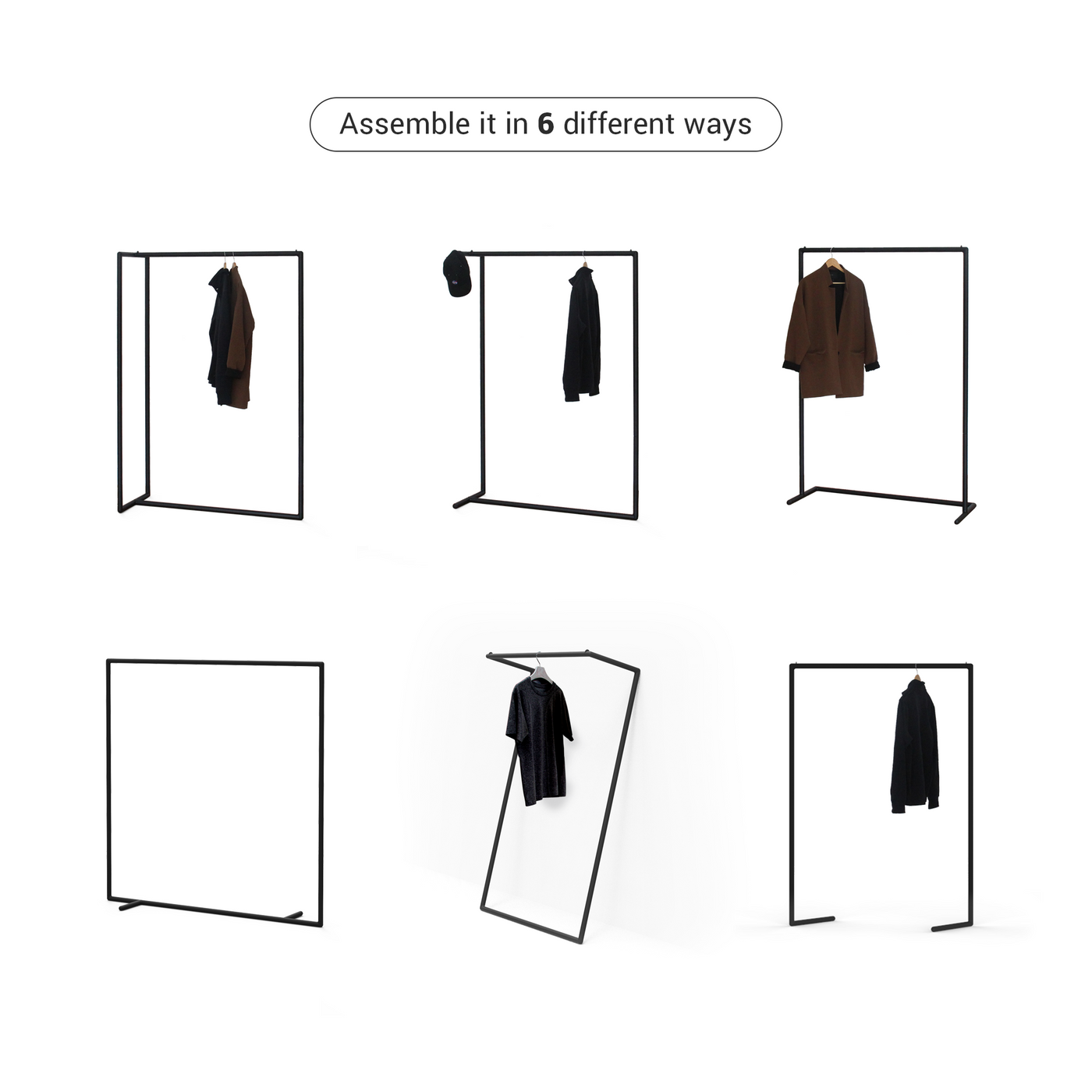 6-in-1 Garment Rack