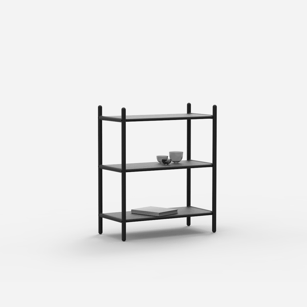 Custom-Fit Shelving System