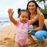 Aloha Is The Answer Infant Onesie - Seascape Life