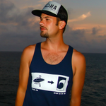 Exit To The Sea Mens / Unisex Tank Top - Seascape Life