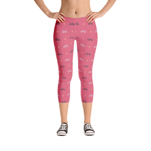 Aloha Pineapple Womens Leggings - Seascape Life