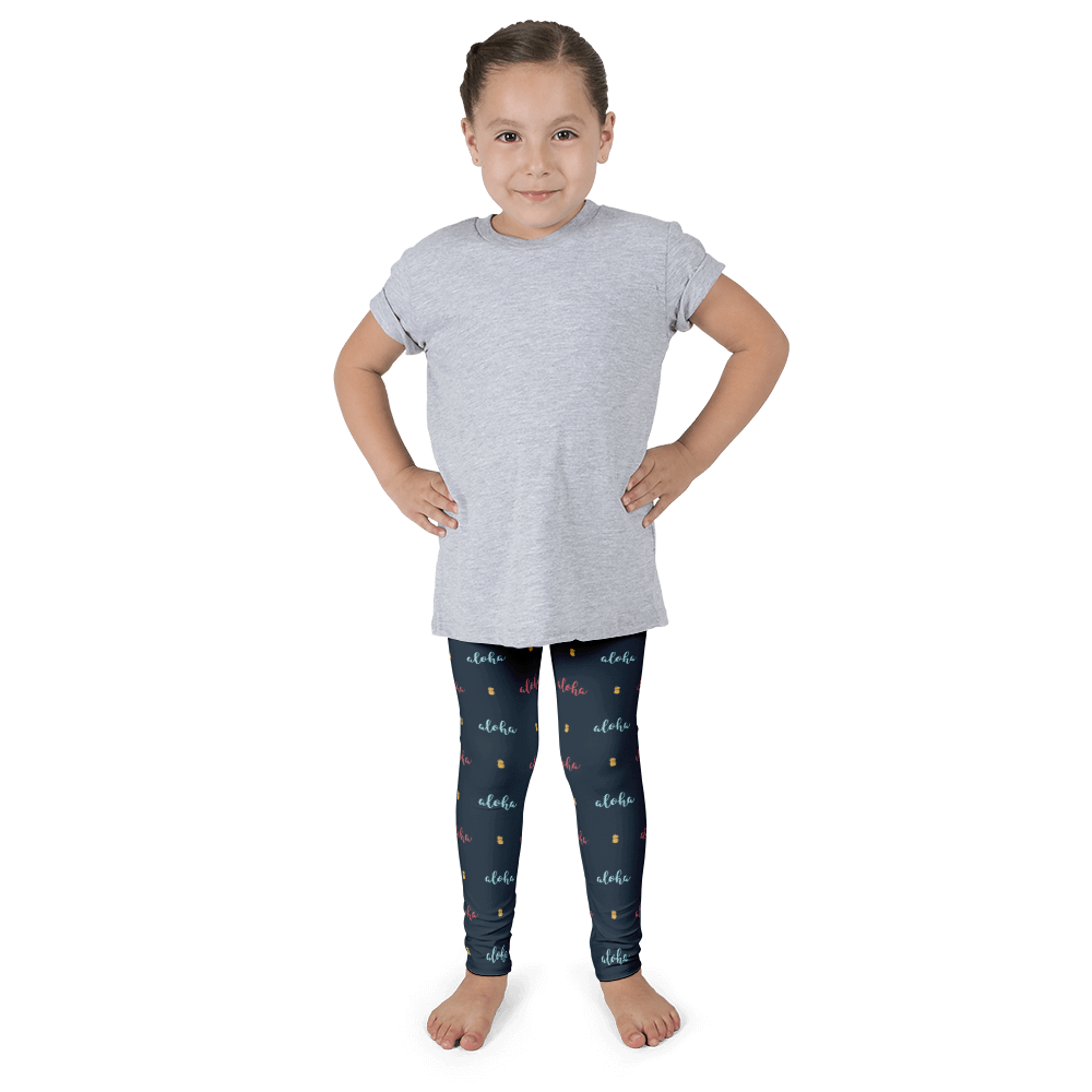 Aloha Pineapple Kid's Leggings