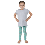 Fan Coral Kid's Leggings - Seascape Life