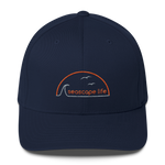 Retro Seascape Life Flexfit Structured Twill Hat - Seascape Life