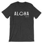 Aloha with Shark Jaws Mens / Unisex T-Shirt