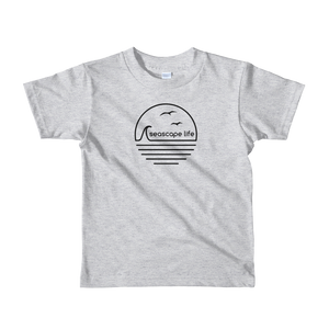 Retro Seascape Life Kids T-Shirt - Seascape Life